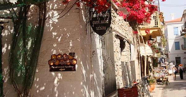 Street scene in Nafplio, Peloponnese, Greece. One of my favorite places on