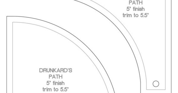 New Drunkard S Path Template Set 5 By Tabslot On Etsy 9