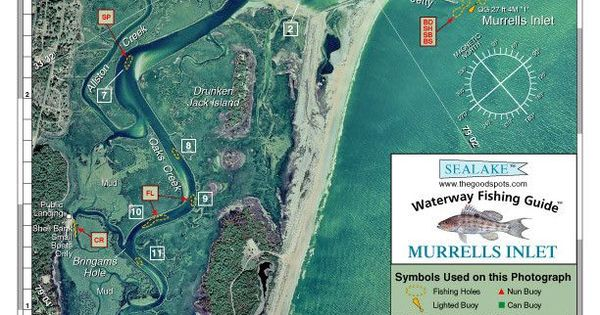 South carolina murrells inlet aerial photo from sealake for Murrells inlet fishing report