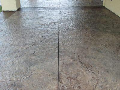 Existing Concrete Patios