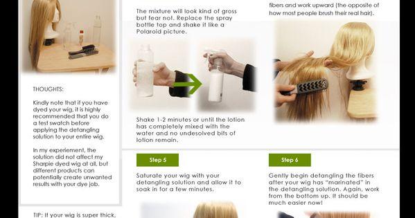 how to make hair detangler at home