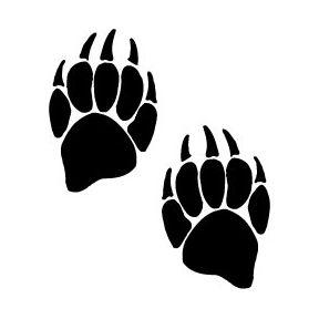 The Tattoo Designs Bear Paw Prints Bear Paw Tattoos Paw Tattoo Bear Paw Print