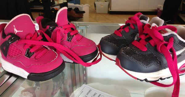 Too Cute! Baby girl Nike Air & Nike Jordan tennis shoes!! $15.99 ...