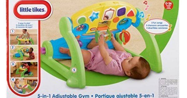 Little Tikes Adjustable Gym 5 In 1 Floor Play Tummy Time Infant