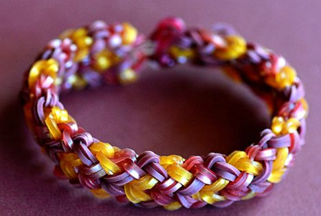 How To Make A Small Basket Weave Loom Bracelet : How to make a small basket weave bracelet rainbowloom