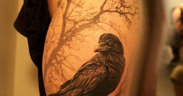 tattoo rabe auf baum yggdrasil tattoo pinterest tattoo tatoos and tatoo. Black Bedroom Furniture Sets. Home Design Ideas