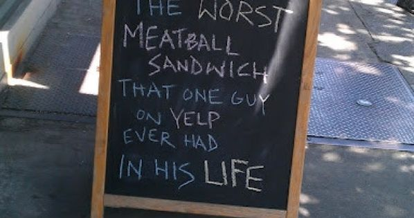 18 Funny RestaurantSigns: There's just so much more to say than what's