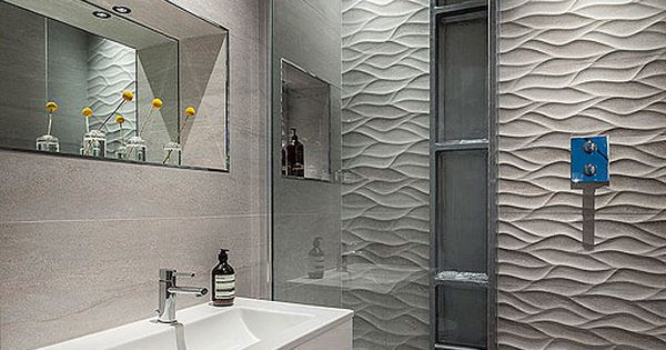 Grey And White Bathroom Michelle Chaplin Interiors