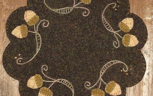 Penny Rug Patterns Penny Rug Patterns Kits And Supplies