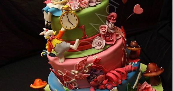 Alice in Wonderland Cake (ideas)