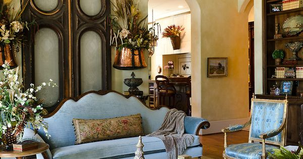 Luxurious French Country Home Interior Design By Cabell