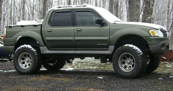 lifted sport trac new wheels for lifted trac ford explorer ranger resource - Ford Explorer Sport 2001 Lifted