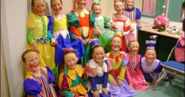 LADIES Polka Dot Skirt MUNCHKIN DANCE SKIRT Wizard Of OZ Costume Pantomime UK