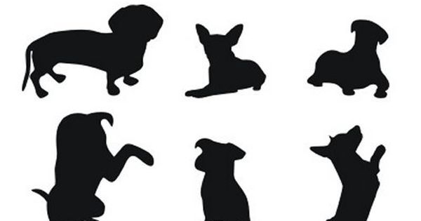 85 Free High Quality Silhouette Sets Silhouettes Dog