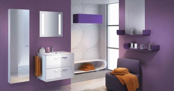 la couleur parme l int grer dans la d co int rieure deco. Black Bedroom Furniture Sets. Home Design Ideas