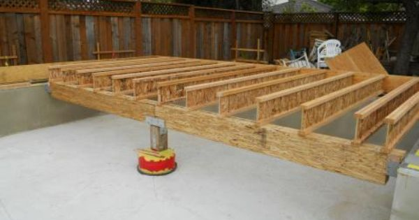 Ground Floor Girder And Joist Installation Silicon Valley Zero Energy Home Shed Construction Residential Construction Ground Floor