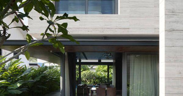 Travertine dream house wallflower architecture design architecture design travertine and - Wall flower design ...