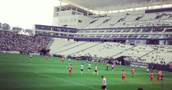 Arena Corinthians Corinthians 3x0 Mogi Mirim Vai Corinthians