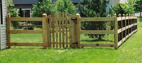 Perfect Wood Fencing Split Rail Wood Fences 171 Mid