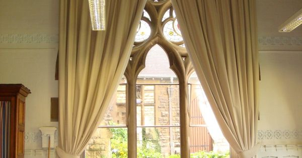 Arch Window Curtains Are Very Nice : Arch Window Curtains ...