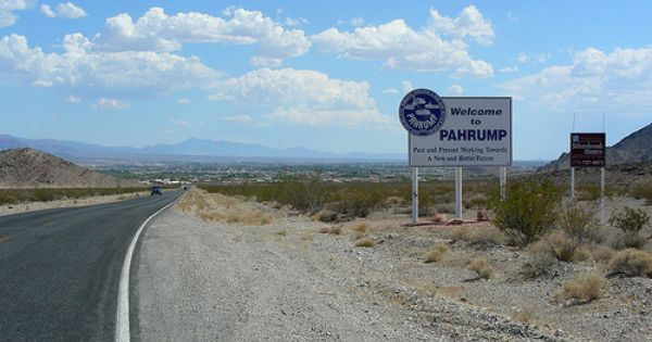 Pahrump Nevada I Lived In Amargosa Valley For 6 Yrs The Trip Into Pahrump Once A Week Was A Highlight Town Day Places Visited Pahrump Nevada Nevada Road Trip