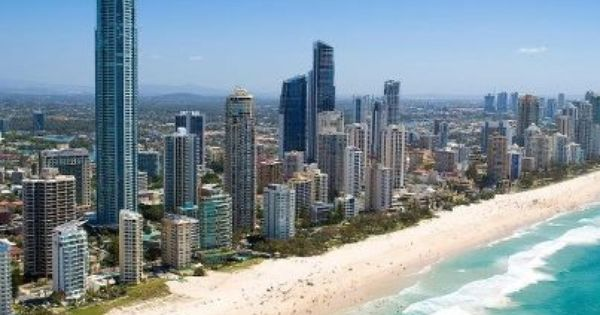 Surfers Paradise. my new home for the next month.