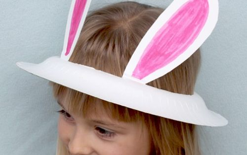 easter bunny ears out of paper plates this site has other