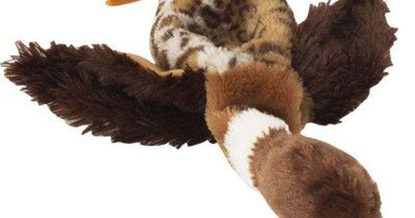 Ethical Pets Mini Skinneeez Mallard Duck Stuffingless Dog Toy 14 5