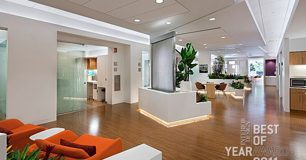 Msk Brooklyn Infusion Center By Zgf Architects Contract Interiors Office Pinterest
