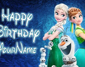 Disney Frozen Fever Backdrop Frozen Fever Birthday Frozen