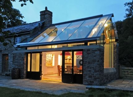 House Designs Featuring Glass Extensions Enjoy Nature From The Comfort Of Y