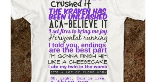 PITCH PERFECT QUOTES... Love!
