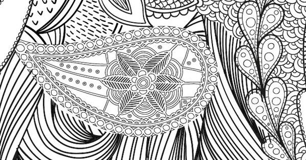 every pattern coloring pages - photo#3