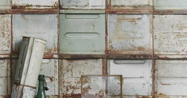 le style industriel aux murs pastel industriel et design