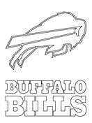 Buffalo Bills Coloring Pages : buffalo, bills, coloring, pages, Buffalo, Bills, Coloring, Logo,