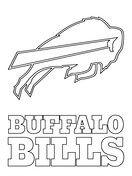Buffalo Bills Coloring Pages : buffalo, bills, coloring, pages, Buffalo, Bills, Coloring, Logo,