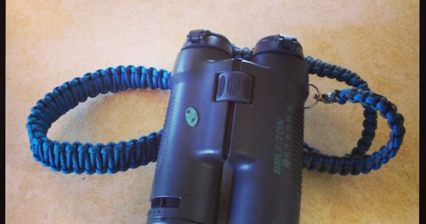 Paracord binocular strap find them at for Cool things to do with paracord
