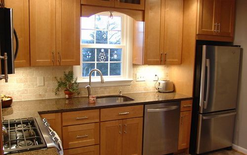 L Shaped Kitchen Designs For Small Kitchens small l shaped kitchen designs with island - google search