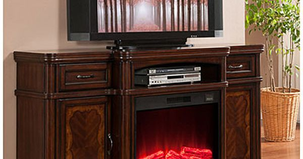 72 Cherry Media Electric Fireplace Media Electric Fireplace Fireplace Tv Stand Big Lots