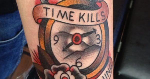 Pocket Watch Tattoo Tattoos With Images Pocket Watch Tattoos