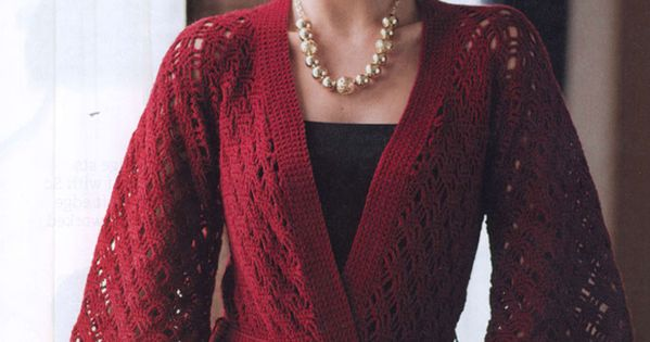 Free Crochet Pattern For Kimono : Free Crochet Kimono Pattern Crocheted cardigans, tops ...