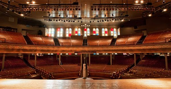 Ryman auditorium my 1 mother church incredible for Origin of balcony