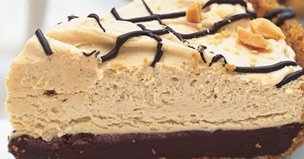 Check out Black-Bottom Peanut Butter Mousse Pie. It's so ...