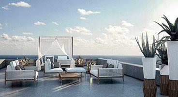 Mulini Mirror Luxury Garden Furniture Outdoor Furniture Design Outdoor