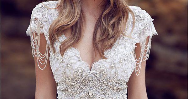 Anna Campbell Meerjungfrau Hochzeitskleider Brautkleider mit ...