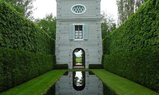 Gardens and Outdoor Spaces / Les Quatre Vents gardens, Canada