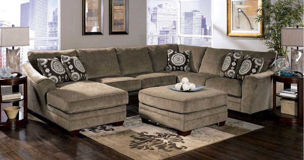 Signature Cosmo Sectional Marble Sectionals Raleigh Furniture Home Comfort Furniture