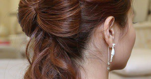 bow hairstyle beauty image photo picture (15) http://www.hairstylebeautynails.com/hairstyles/bow-hairstyle-15/