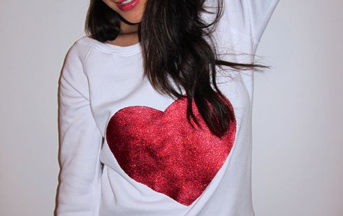"diy...how to make shay mitchell's ""everything is better with glitter"" shirt."