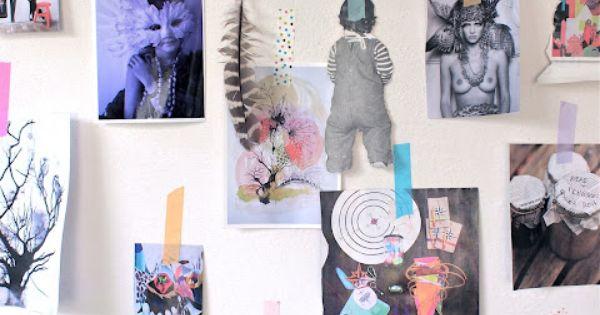 lo-fi wall art